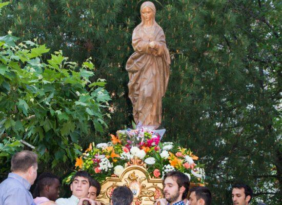 procesión Virgen