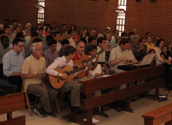 coro de la parroquia